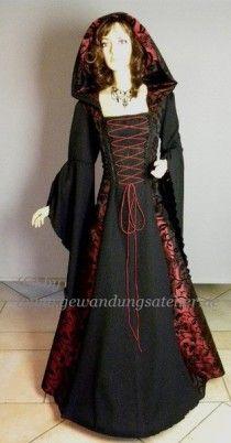 Mittelalter Damen Gewand