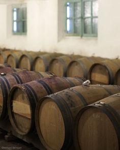 oak barrels.