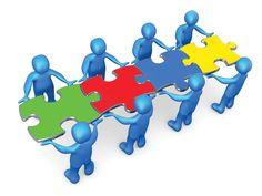 Para lograr las metas y objetivos hay que tener en cuenta la importancia del trabajo en equipo donde se unen la coordinación del conocimiento y el esfuerzo.