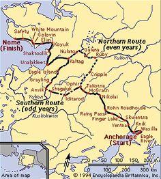 Iditarod Trail...it would be cool to see the dog sled racing in Alaska #alaska #iditarod #thegreatland