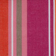 French Stripe colour Caberet. Find other great fabrics like this at www.curtaineasy.co.nz