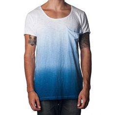Bottom Up Tee Blue, $29, now featured on Fab.