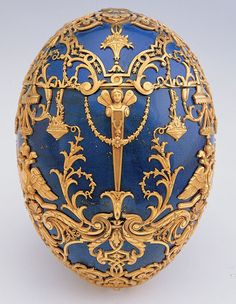 Imperial Tsarevich Easter Egg  Fabergé, 1912  The Virginia Museum of Fine Arts