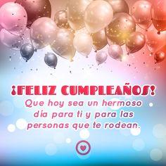 feliz cumpleaños con frase de felicitacion