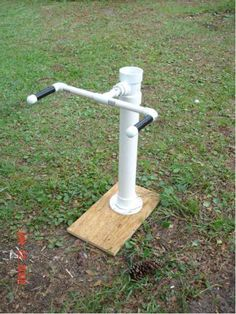 Back yard bow/arrow stand from PVC! - Georgia Outdoor News Forum