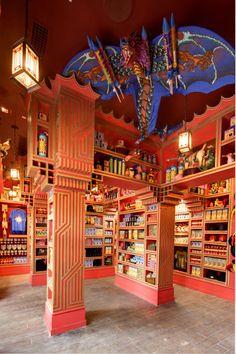 ゾンコの「いたずら専門店」。USJで楽しむハリーポッターの世界