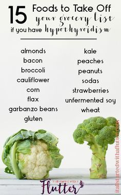 15 Foods to Eat Sparingly for Optimal Thyroid Health, Hashimotos, Hypothyroidism by It All Started wth a Flutter