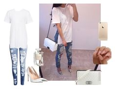 """""""Persian rugs // jacquees"""" by jenah-dv on Polyvore featuring H&M, Gianvito Rossi and Chanel"""