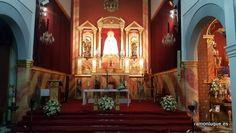 Arreglo floral para boda celebrada en la Iglesia de San Antonio de Padua #CórdobaESP #Floristería #RamónLuque #Bodas | ramonluque.es