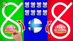LetterSchool & Opi kirjoittaa Numerot 1 - 10 Finnish vs HWT Style & Videot Lapsille Learning Games For Kids, Fun Games For Kids, Math For Kids, Teaching Kids, Games To Play, Letter School, Baby Games, Opi, Lettering
