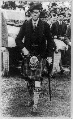 Edward, Prince of Wales in Braemar, Scotland (later EDWARD VIII/THE DUKE OF WINDSOR)