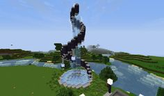 A list of things to build in Minecraft when you're bored. Find inspiration for building Minecraft castles, cities, houses, and more. Minecraft Fountain, Minecraft Statues, Minecraft Garden, Minecraft Castle, Minecraft Plans, Minecraft Blueprints, Cool Minecraft Houses, Minecraft Crafts, Minecraft Buildings