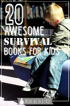 Mom with a PREP | 20 Amazing Survival Stories for Kids from 4-18. Help your child learn about the wonders of nature and survival; SnoWave comment: I've read several of these, and they are on my favorites list. Need to read the others!