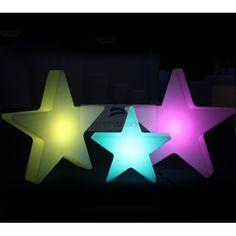 LED Landscape Mood Light (Star Shape,RGB Color Change,Remote Control)