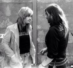 Lemmy with Ozzy (Black Sabbath) Hard Rock, Ozzy Osbourne, Judas Priest, Black Sabbath, Heavy Metal, Gus G, Black Label Society, Rock Of Ages, Rockn Roll