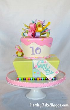 Party Cake, Girls Birthday Cake
