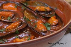 Tapas, Salsa Picante, Mussels, Empanadas, Thai Red Curry, Seafood, Menu, Fish, Cooking