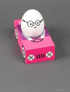 Easter Egg Cars / Mr Printables