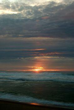 Beautiful sunset at Marina State Beach