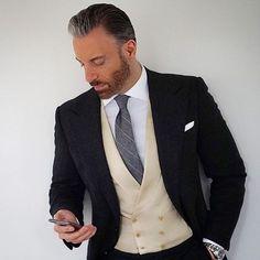 2018 Latest Coat Pant Designs Black Beige Tweed Men Suit Slim Fit 3 Piece Tuxedo Custom Style Suits Groom Prom Blazer Masculino