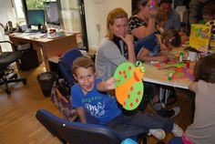 Ladybug Craft | May 9, 2016 | American Corner Pecs