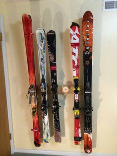Button Ski Rack An Innovative Ski Storage Von Buttonskirack Auf Etsy
