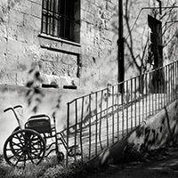 """Maurizio Scanu """"La cultura dei diritti"""" collettiva di fotografia ex ospedale psichiatrico di Rizzeddu, padiglione H, Sassari 12 giugno 2015 Stampa su Breathing Color Luster"""
