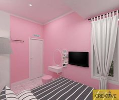 Home Sweet Home: These Are the Biggest Home Décor Trends of 2019 . Cute Bedroom Decor, Room Design Bedroom, Girl Bedroom Designs, Room Interior Design, Home Interior, Pink Room, Luxury Decor, Dream Decor, Dream Rooms