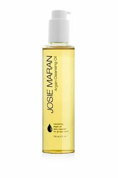 Josie Maran Cleansing Oil Removes Makeup, Cleanses, tones and lightly hydrates in one step!!