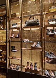 A Design and Concept Firm Shoe Store Design, Clothing Store Design, Retail Store Design, Retail Shop, Fashion Shop Interior, Boutique Interior Design, Retail Boutique, Store Window Displays, Hospitality Design