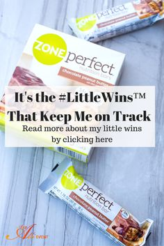 Have you had any #LittleWins today? I did! I resisted grabbing that bag full of chips when I was tired and hungry. Click the photo to see what I reached for instead. #ZonePerfectLittleWins #ad