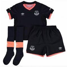 Camisetas del Everton para Niños Away 2016 2017