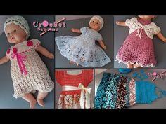 تشكيلة فساتين كروشيه اطفال للعيد مع كروشيه سمسومة Crochet Dress Girl, Girls Dresses, Summer Dresses, Crochet Hats, Youtube, Fashion, Dresses Of Girls, Knitting Hats, Moda