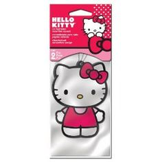 Hello Kitty Air Freshener - Strawberry Scent - 2 Pack #HelloKitty #AirFreshener www.empowernetwork.com/almostasecret.php?id=ethan1