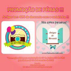 Promoção de férias !!! Amigas do Morumbi com carteirinha tem 40% de desconto !!! Consulte !!! #nossomosparceiros #amigasdomorumbi  #vickyphotos @vicky_photos_infantis https://www.facebook.com/vickyphotosinfantis http://websta.me/n/vicky_photos_infantis https://www.pinterest.com/vickydfay https://www.flickr.com/vickyphotosinfantis