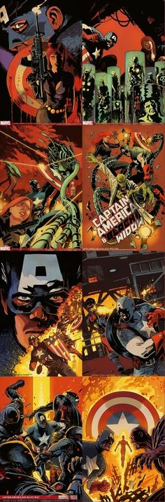 Captain America- Francesco Francavilla