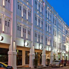 The Porcelain Hotel, salah satu hotel murah di #Singapura yang bernuansa elegan.