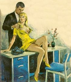 Retro Arte: PAUL RADER E AS CAPAS DE PULP FICTION