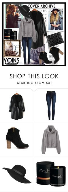 """""""YOINS 1"""" by nedim-848 ❤ liked on Polyvore featuring Topshop, Chanel, Timothy Dunn, women's clothing, women's fashion, women, female, woman, misses and juniors"""