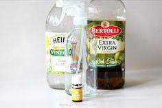 Homemade Lemon Scented Dusting Spray