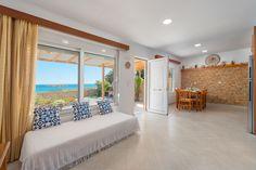 The Rhodes South Escape beach front Plimmiri - Holiday homes & villas on Rhodes Island Greece Rhodes Island Greece, 4 Bedroom House, Rhode Island, Beach House, Villa, Building, Holiday, Furniture, Home Decor