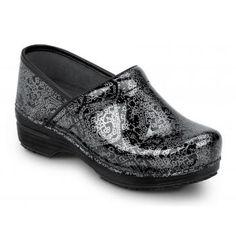 Dansko SDK860202 Women's Motif Patent Leather, SR Max, Soft Toe, Slip Resistant Clog