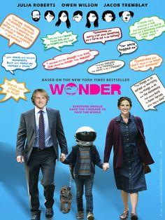 Wonder - new international poster: https://teaser-trailer.com/movie/wonder/  #Wonder #WonderMovie #MoviePoster #Philippines