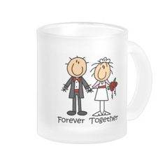 Forever Together T-shirts and Gifts 10 Oz Frosted Glass Coffee Mug