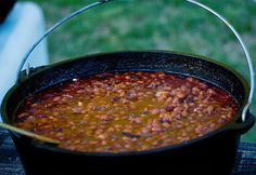 Bodacious Baked Beans, perfect for a picnic - cooked slow and seasoned just right!