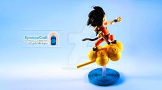 Quilling Son Goku on Kinto-un by kyomoncraft on DeviantArt