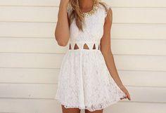 Imagem de dress, fashion, and white