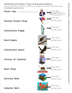 National & State Symbols (California)