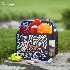 Double their fun this summer with a fully stocked Double Duty Caddy!
