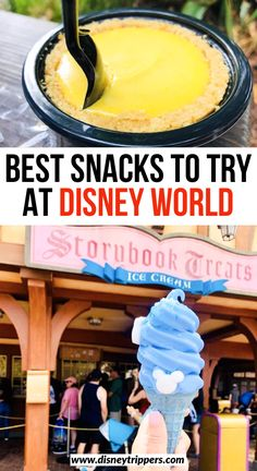 Feb 2020 - Taste your way around the parks with the best Disney snacks! Discover all of the best snacks at Disney world and try some new fan favorites! Disney World Vacation Planning, Walt Disney World Vacations, Disney Trips, Best Disney World Food, Disney World Parks, Disney Worlds, Disney Snacks, Disney Food, Orlando